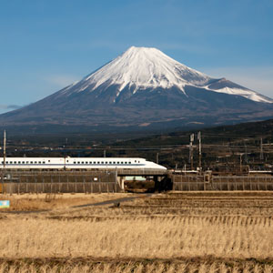 Japanese Bullet Train Shinkansen