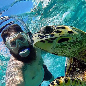 Ethical wildlife selfies