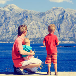 Travelling in Montenegro with kids