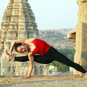 Yoga holidays in India