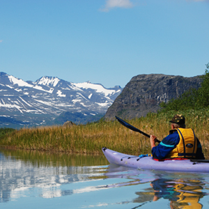 Kayaking in Sweden