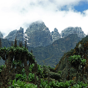 Rwenzori Mountains in Uganda