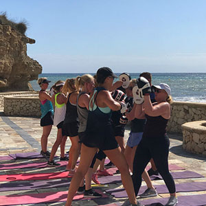 Luxury fitness retreats in Spain
