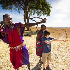 Maasai culture in Kenya