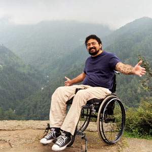 Wheelchair accessible holidays in India