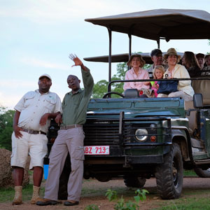 Family safaris in Botswana and Zambia