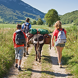 Walking holidays for families