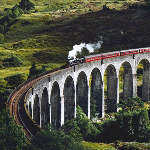 Scotland by train