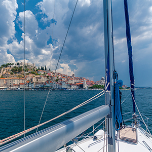 Croatia sailing holiday map and highlights