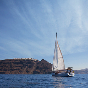 Greece sailing holiday map and highlights