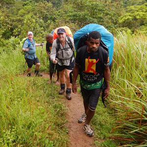 Trekking The Kokoda Track in Papua New Guinea