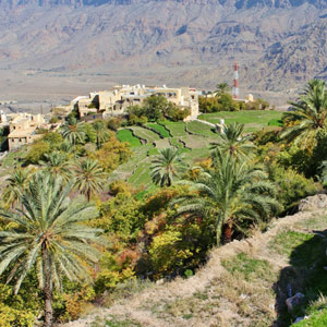 Oman luxury travel map & highlights