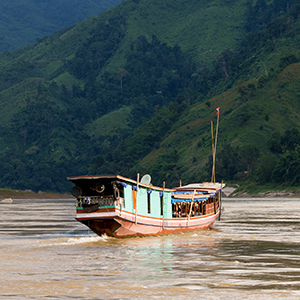 Mekong cruises in Laos