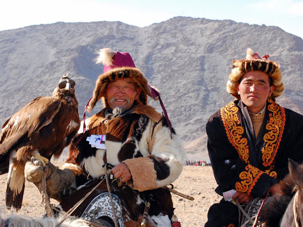 Mongolia Eagle Festival holiday