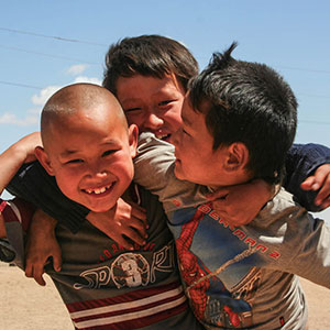 Travelling in Mongolia with kids