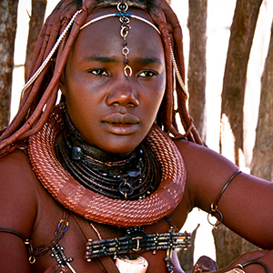 Tribal culture in Namibia