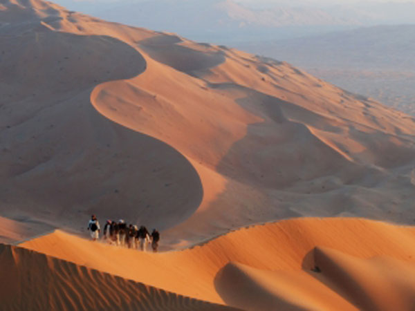Oman private tour, mountains and deserts