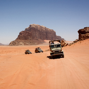 Petra & Wadi Rum Map & highlights