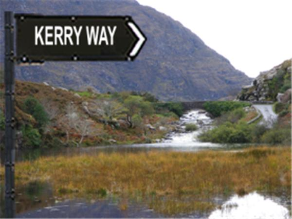Kerry Way hike, Ireland