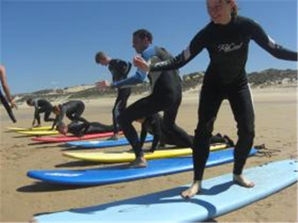 Alentejo surfing vacation in Portugal