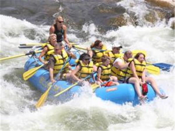 River rafting in Colorado, USA