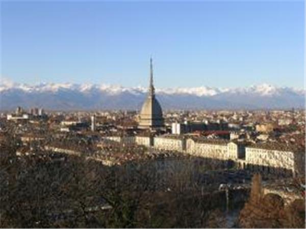 Italy vacation, Turin by bike