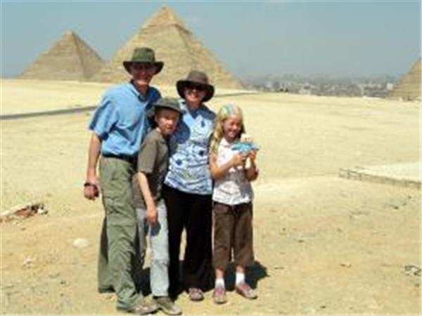 Tailor made family vacation in Egypt