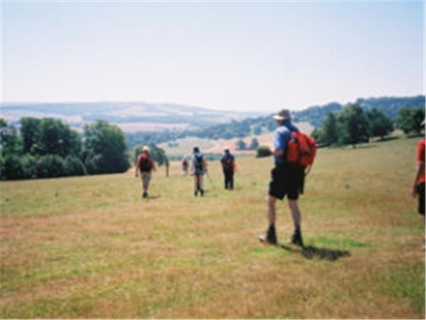 Pilgrims Way guided walk, England