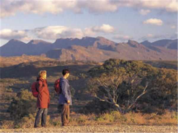 Flinders Ranges walking holday, South Australia