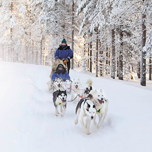 Winter multi activity holidays in Finland