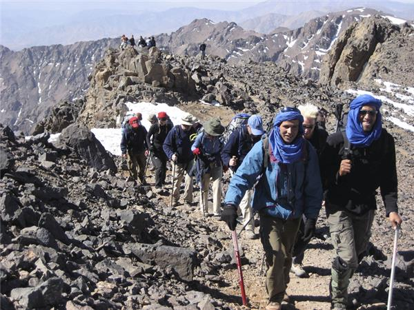 Short break to climb Mount Toubkal in Morocco