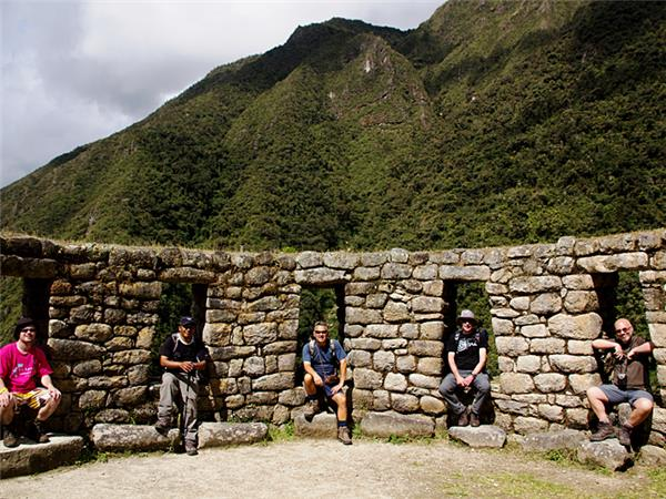 High Inca trail trek in Peru