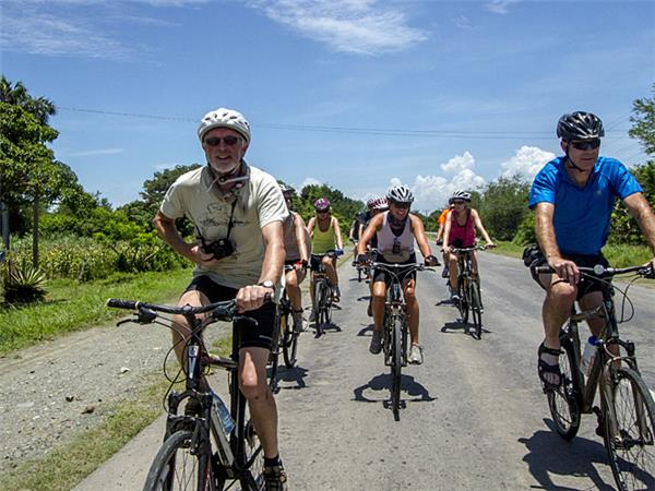 Yucatan cycling vacation in Mexico