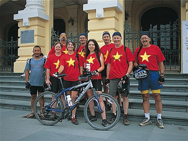 Vietnam small group cycling vacation