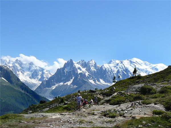 Mont Blanc Circuit trek, with hotel accommodation