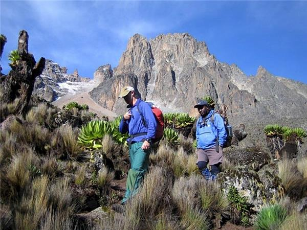 Mt Kenya climbing vacation, Kenya