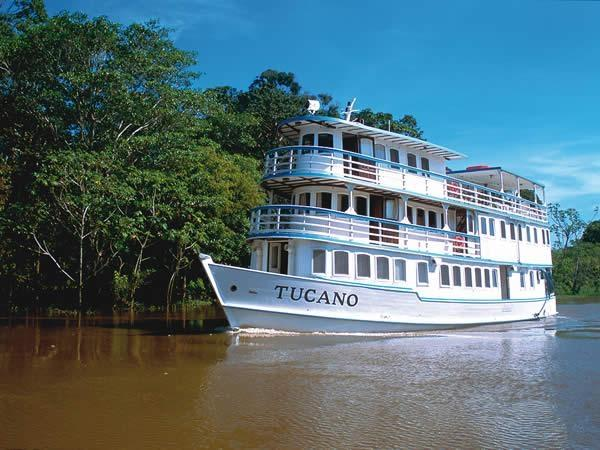 Amazon river cruise, small group