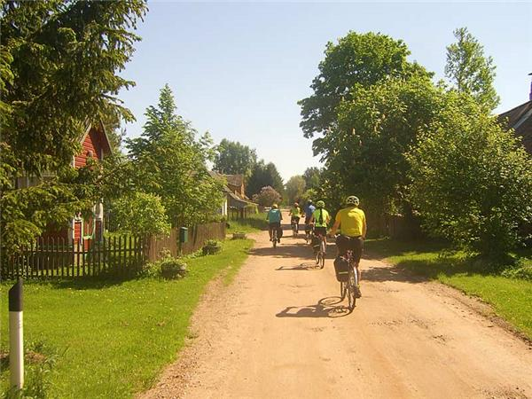 Biking vacation in the Baltics