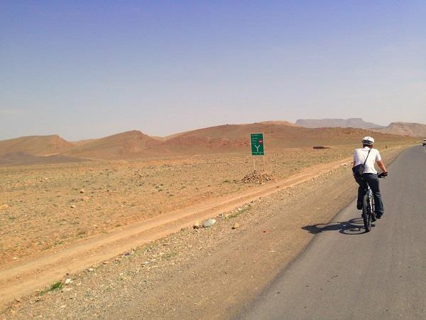 Biking vacation in Iran