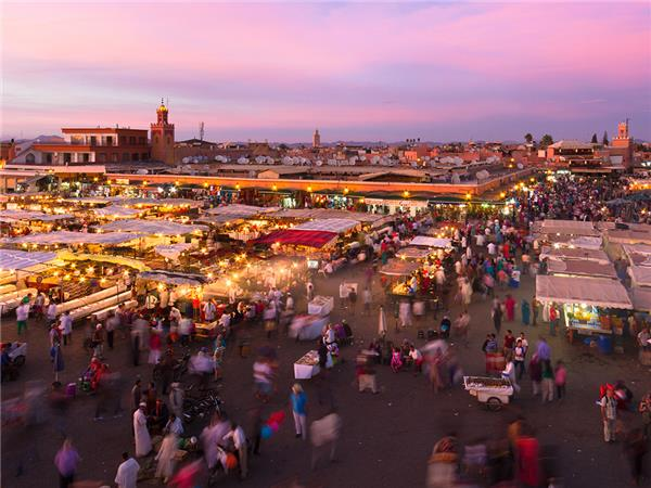 Morocco overland vacation, small group