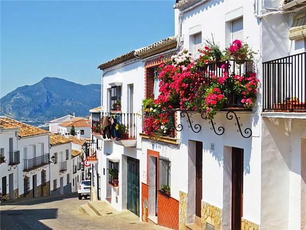Walking in Andalucia, Spain