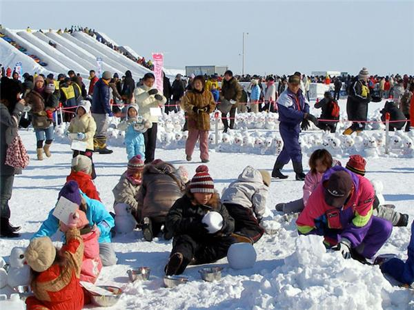 Japan tour, winter festivals