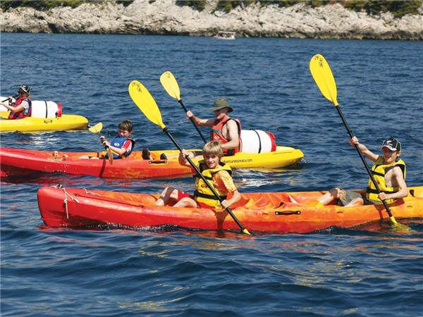 Family multi-activity vacation in Croatia
