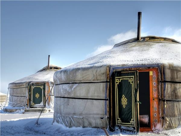 Christmas on the Trans Mongolian express