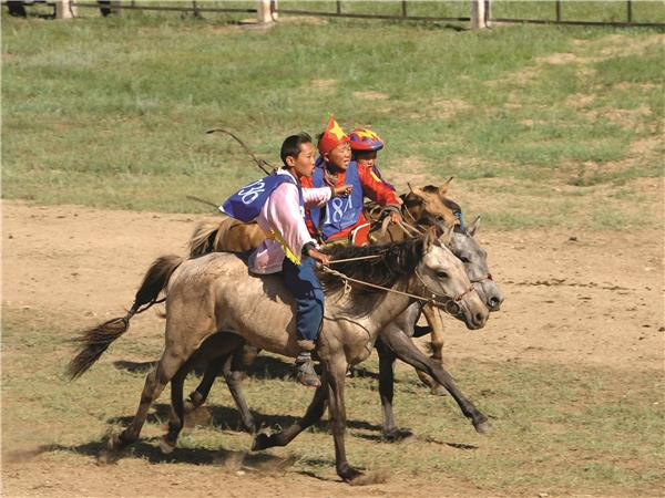 Trans Mongolian Eastbound with the Naadam Festival