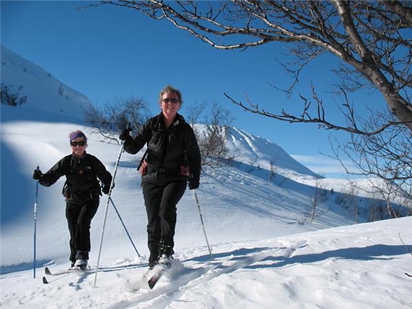 Cross country skiing in Norway