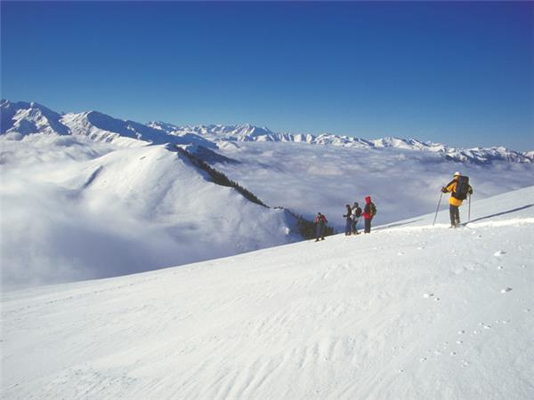Pyrenees winter walking vacation, France