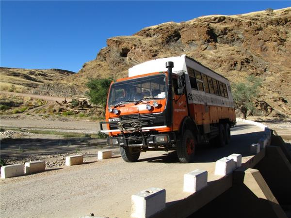 Victoria Falls to Cape Town overland truck tour