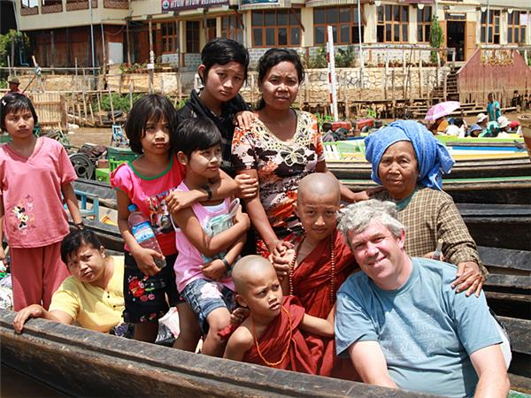 Burma vacations, small group tour