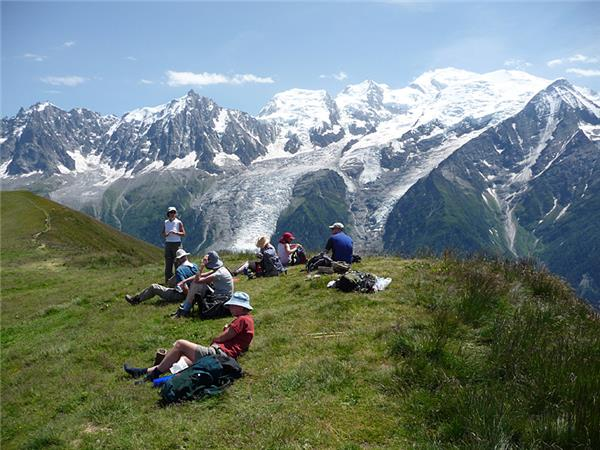 Mont Blanc vacation, Tour du Mont Blanc